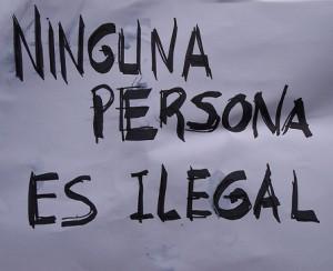 Ninguna persona es ilegal