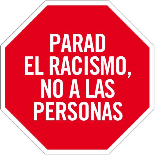 Parad el racismo, no a las personas