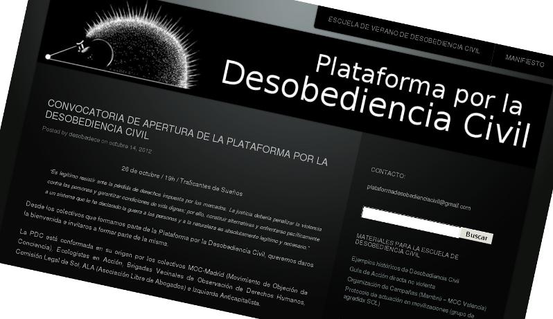 Plataforma por la Desobediencia Civil