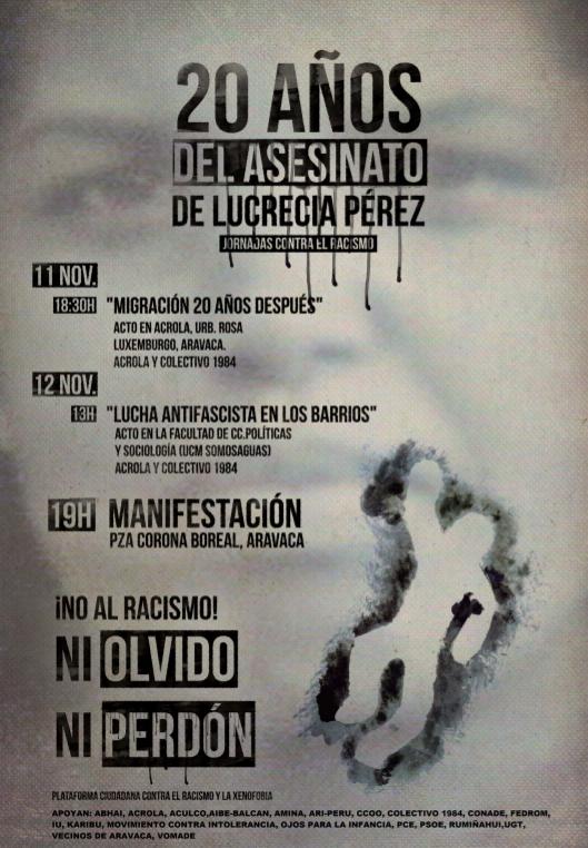 20 aniversario del asesinato de Lucrecia Pérez